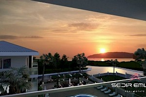 Luxury, spacious sea view Apartments in Alanya City. alanya