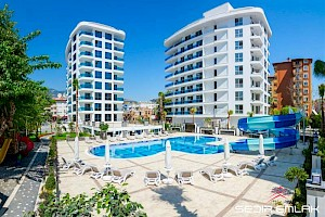 Fancey Apartments in Residential Complex for sale in alanya - turkey alanya