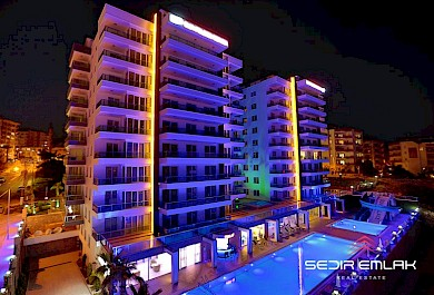 Flats within a fully facilitated compound in Alanya City Turkey alanya