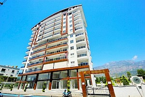 Luxury Apartment in new residence for sale in Alanya Mahmutlar alanya