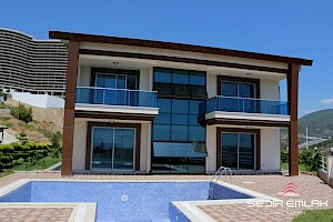 Spacious sea view villa with privet pool in Kargicak Alanya. alanya