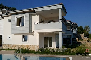 Semidetached villas with sea and mountain view  for sale in Alanya  - Turkey alanya