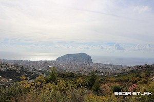 4560 M2 residential ground with sea view  for sale in Alanya. alanya