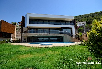 High-end smart home villa, with sea view for sale in Alanya. alanya
