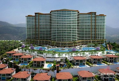 Sea view apartments for sale in modern complex in Alanya alanya