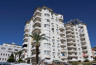 Hot sale Nice Fully furnished sea view 2+1 Apartment in Alanya City alanya