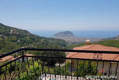 sea view exclusive 4+1 Villa for sale in Alanya City alanya