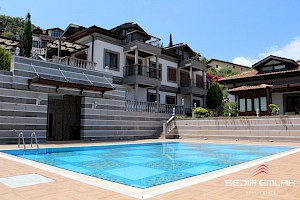 Ultra luxurious sea view brand NEW villas for sale in Alanya Castle - turkey alanya