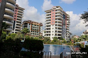 big area luxury 4+1 Apartments for sale in  Oba - Alanya city - turkey alanya