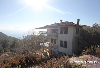 Nice sea view  village  villa for sale in Alanya City - turkey alanya
