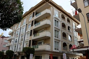 Brand new luxury furnished 2+1 for sale in Alanya city center alanya