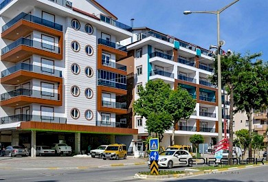 Hot sale  brand new 1+1 apartment 150 m a way from Cleopatra beach in Alanya alanya
