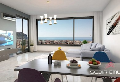 BRAND new luxury Apartments for sale in Alanya City center alanya