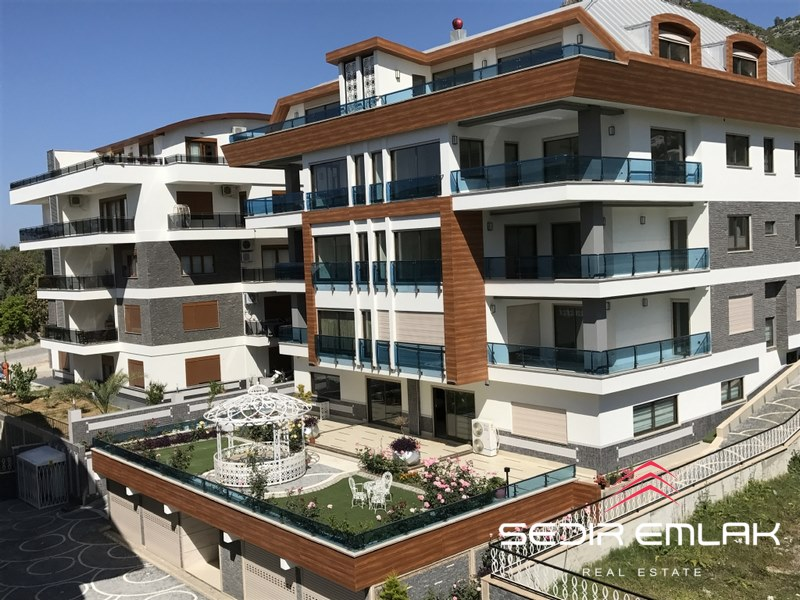 Alanya, sea view apartments in alanya city center