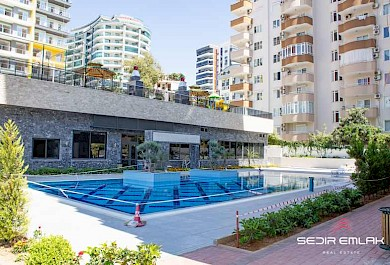 Sea view luxury 3+1 apartment for sale in Mahmutlar - Alanya alanya