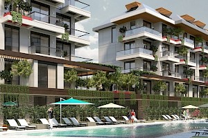 Modern designed luxury apartment for sale in Oba area - Alanya alanya