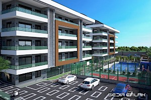 New complex in Oba area in Alanya city with instalment plan alanya