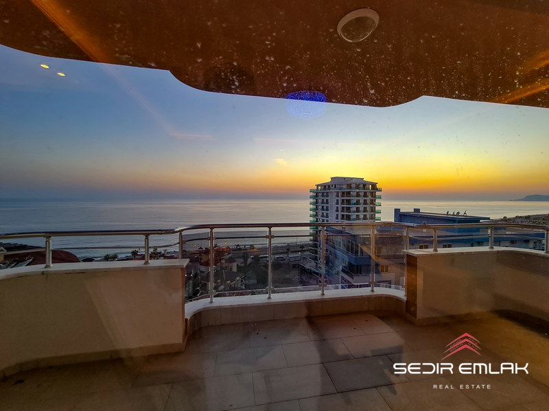 Alanya, sea view apartment for sale in mahmutlar